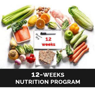 12 Weeks Nutrition Program